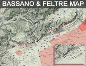 Bassano del Grappa turnpoint Map